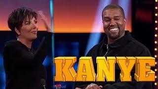 Kanye West DESTROYS Kris Jenner In Hilarious Family Feud Promo