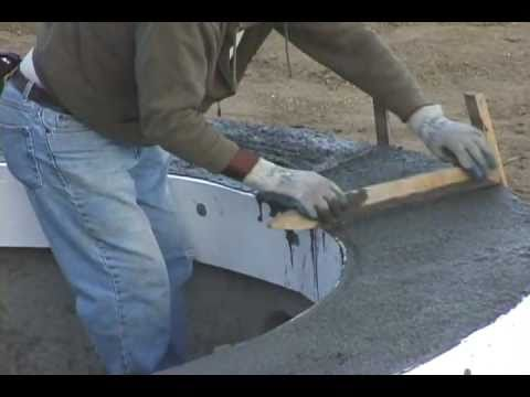 How to build your own pool part 5 of 7 coping tile for Foam concrete forms for pools