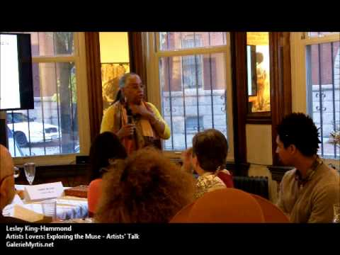 Lesley King Hammond - Artist Talk - Artists Lovers: Exploring the Muse