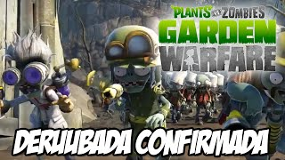 Plants vs Zombies Garden Warfare - DERRUBADA CONFIRMADA