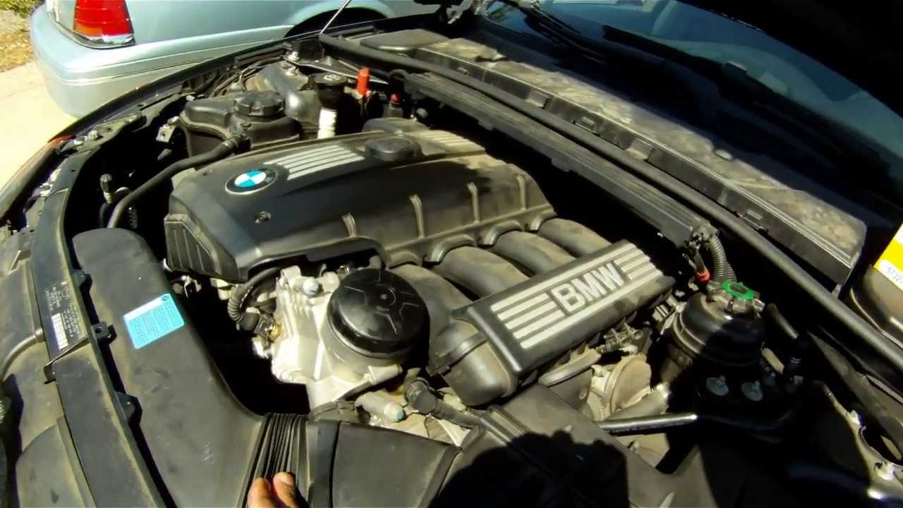 Bmw 528i Oil Dipstick Location