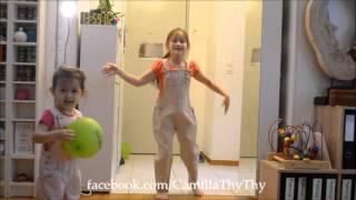 Dancing together - Camilla ThyThy & em gái LyLy