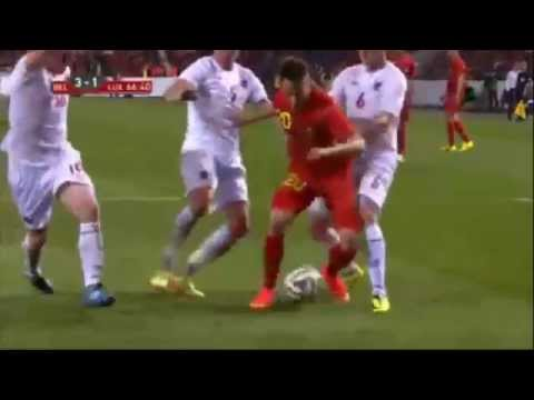 Adnan Januzaj - International Debut: Belgium 5-1 Luxembourg