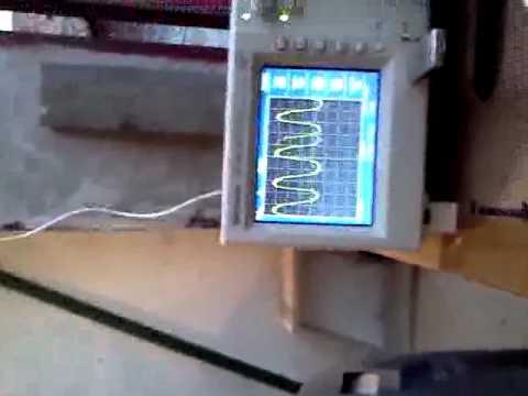 Проверка лямбда-зонда двигателя 1NZ-FE на осциллографе