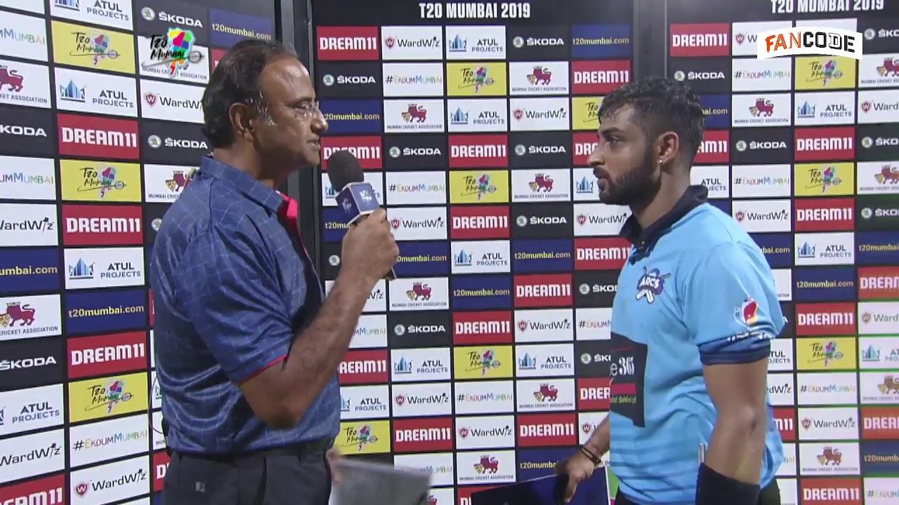 LIVE -  North Mumbai Panthers vs Arcs Andheri - Match 11 - May 19 2019