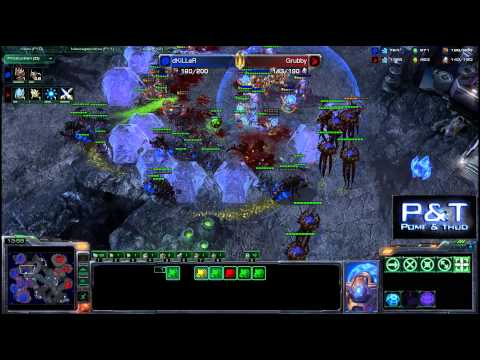 (HD597) Grubby vs Killer - PvZ - Starcraft 2 Replay [FR]