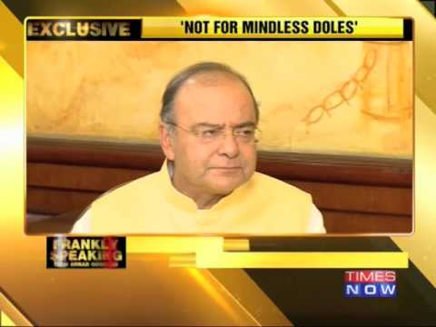 Frankly Speaking with Arun Jaitley - Part 2 - TTN Exclusive Interview