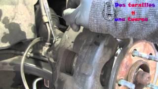 Aprende a purgar los frenos del coche