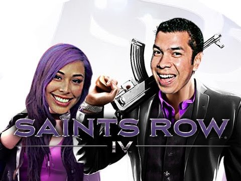 """THE BEGINNING"" Saint Row 4 - Noobyweds - Ep. 1"
