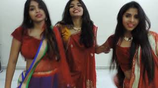 Three Girls Mime of Baahubali