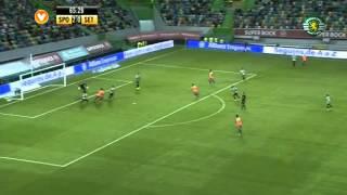 07J :: Sporting - 4 x V. Setúbal - 0 de 2013/2014