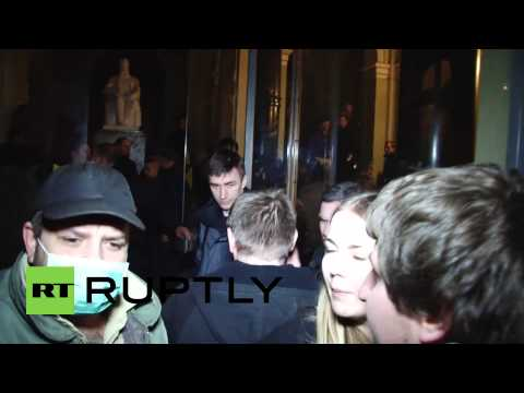 Ukraine: Protesters take control of local govt HQ in Lviv