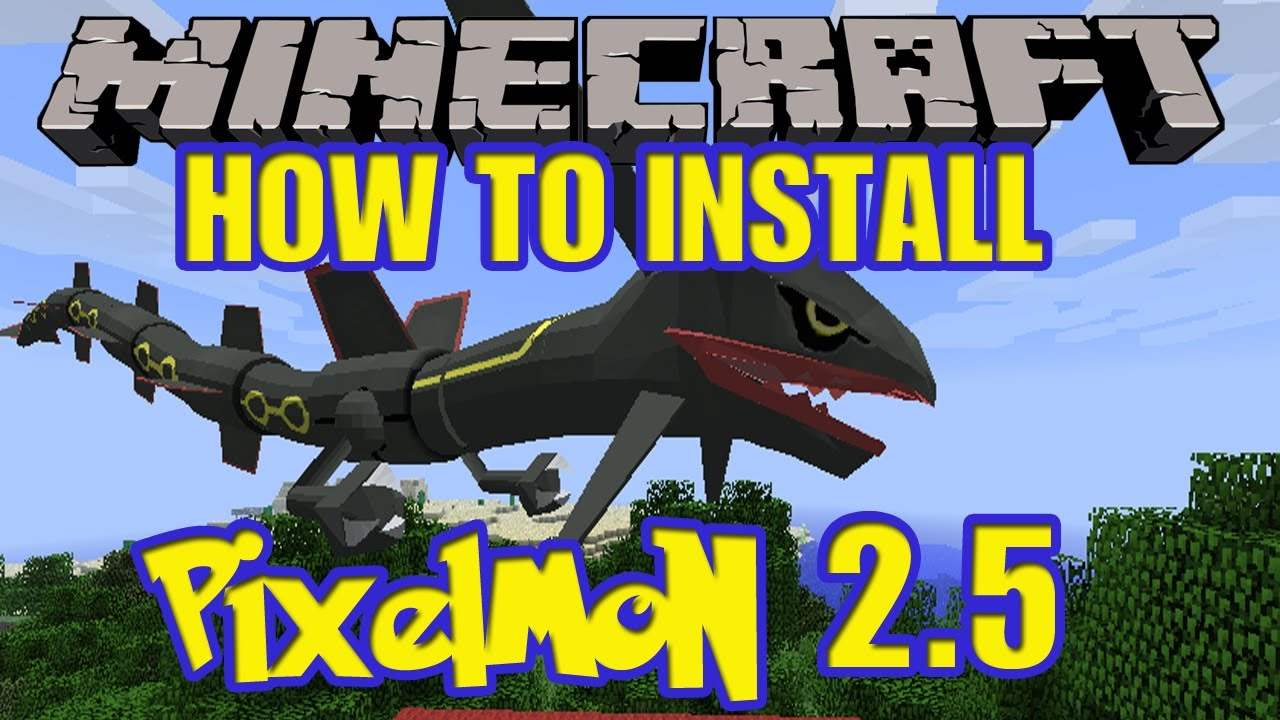 minecraft pixelmon 257164 how to install step by