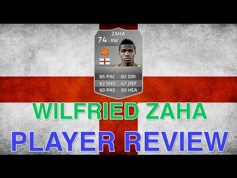 Fifa 14 FUT - Wilfried Zaha 74 Review & In Game Stats - The Silver Stunner! Ultimate Team