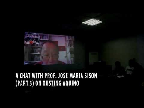 A Chat with Joma -- Part 3 (On Ousting Aquino)