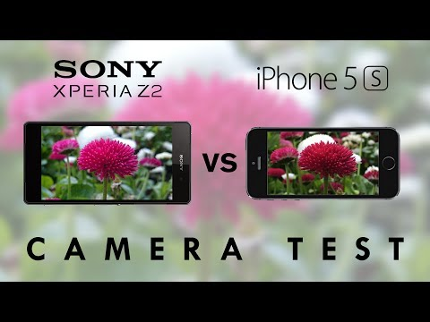 Xperia Z2 vs iPhone 5s - Camera Test Comparison