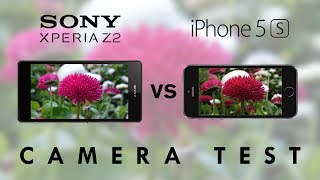 Sony Xperia Z2 Vs IPhone 5s Camera Test Comparison