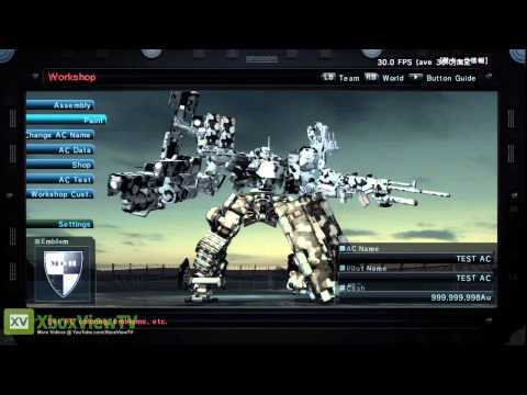 Armored Core 5 - Official Doomsday Trailer (2012)