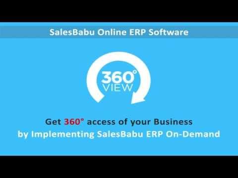 SalesBabu ERP Software