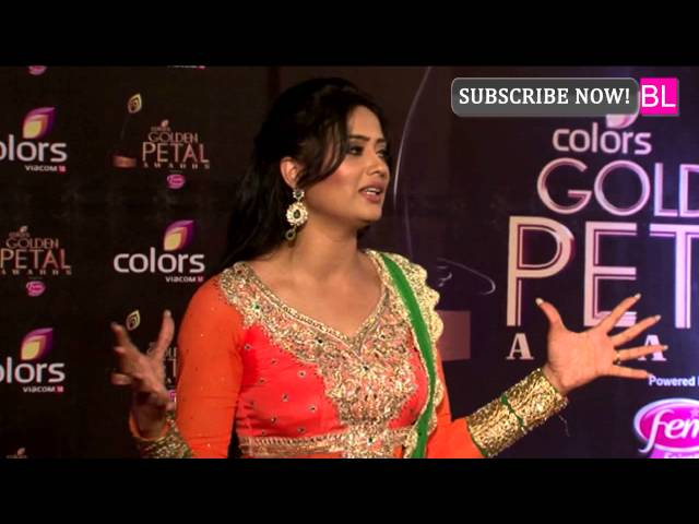 Colors Golden Petal Awards | Shweta Tiwari