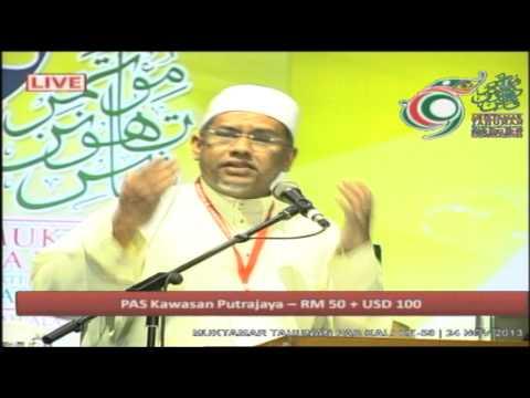 Ucapan Penangguhan Muktamar 59: YB Mohamed Hanipa Maidim
