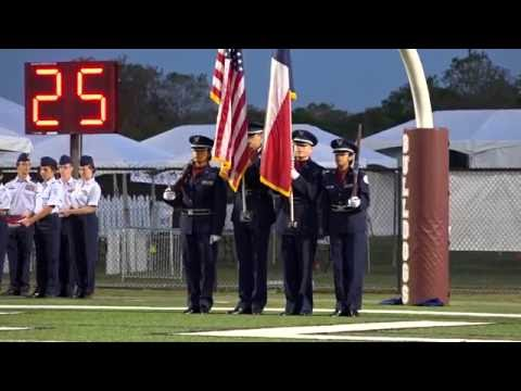 Waller High AFJROTC POW MIA Remembrance Ceremony