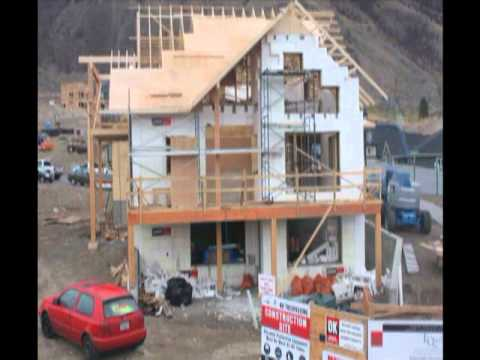 Net-Zero Home Built With LOGIX ICF - Time Lapse Video