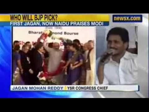 NewsX : After S Jaganmohan Reddy, N Chandrababu Naidu warms up to Narendra Modi