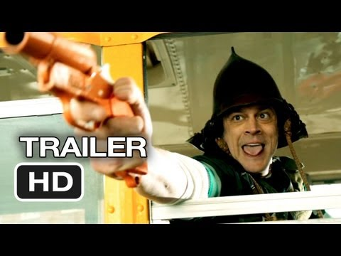 The Last Stand Exclusive TRAILER 2 (2013) - Arnold Schwarzenegger Movie HD