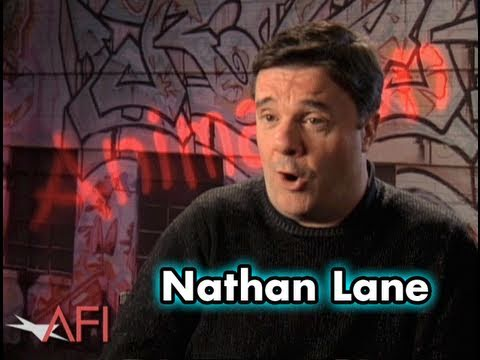 Nathan Lanes Favorite Animated Movie? FINDING NEMO