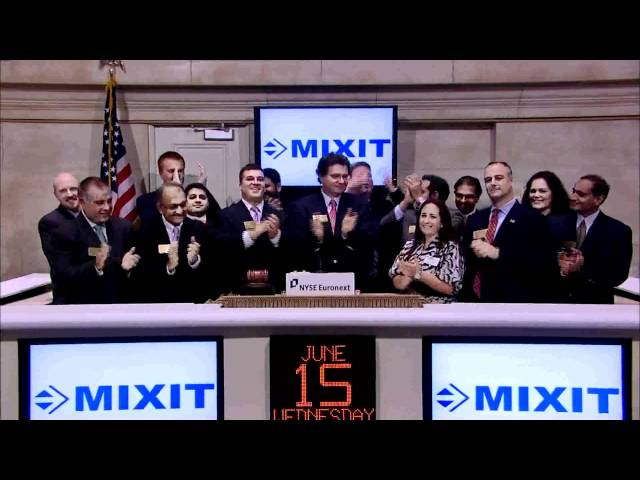 15 June 2011 MIXIT rings the NYSE Closing Bell