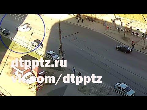 Групповое ДТП на улице Ровио