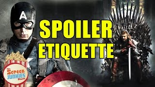 [The Idiot's Guide to SPOILER ETIQUETTE] Video