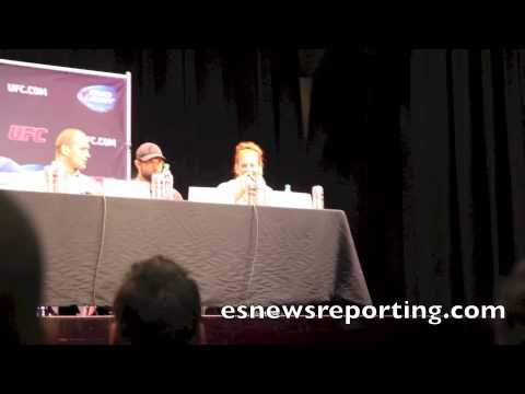 Meisha Tate vs Ronda Rousey trash talk Press Conference