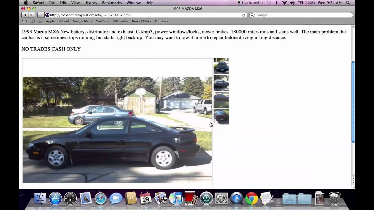 Craigslist Rockford Illinois Used Cars For Sale By Owner