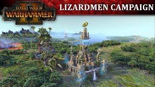 Total War: WARHAMMER II - Lizardmen Kampány Játékmenet