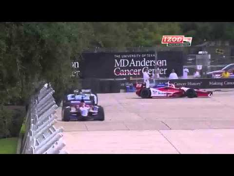 Wilson Spins @ 2013 Indy Car Houston