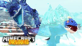 THE ICE SKRILL FREEZES OUR NATION!  - Minecraft Dragons