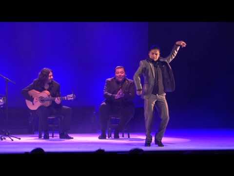 Farruquito et les jeunes talents du baile sur la scène d'Arte Flamenco