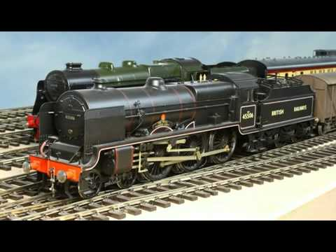 Pete Watermans model train layout