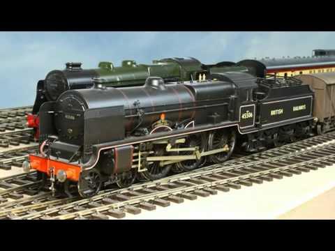 Pete Watermans model train layout