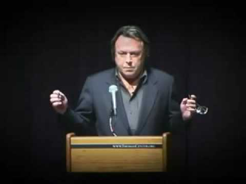 Christopher Hitchens Where do christians think they get their morals from?
