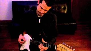 Hey Joe Jimi Hendrix (solo Baritone Guitar Arrangement