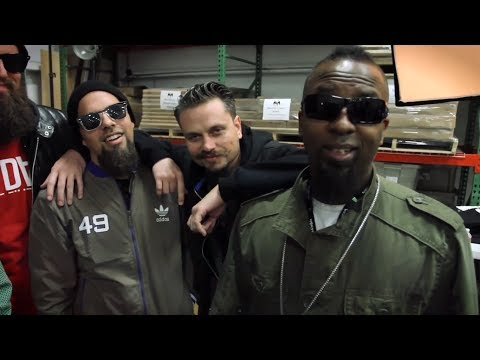 Tech N9ne and Â¡MAYDAY! Talk Hostile Takeover 2012