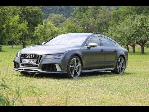 Audi RS 7 Sportback im Test: 560 PS für ein Coupé