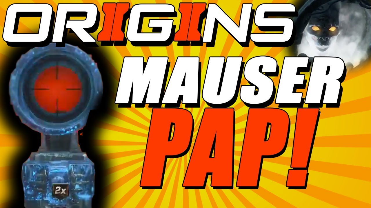 BO2 Origins Zombies - Mauser C96 Pack-A-Punched - Upgraded ...