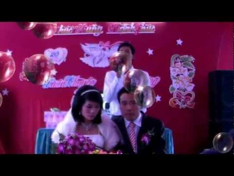 MC đám cưới Hải Dương chém gió lật tung nóc hôn trường