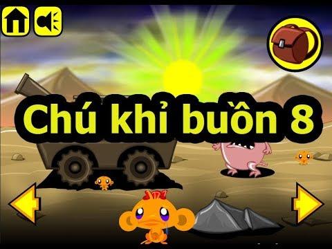 Chú khỉ buồn 8, Chơi game chú khỉ buồn online tại Gamehay24h.vn