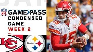 Chiefs vs. Steelers   Week 2 NFL Game Pass Condensed Game of the Week