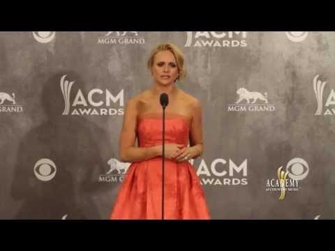 2014 ACM Awards Press Room - Miranda Lambert